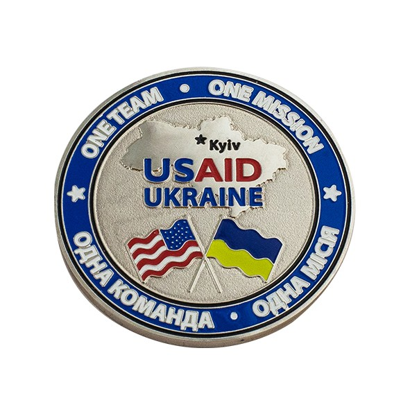 Медаль сувенирная Usaid Ukraine